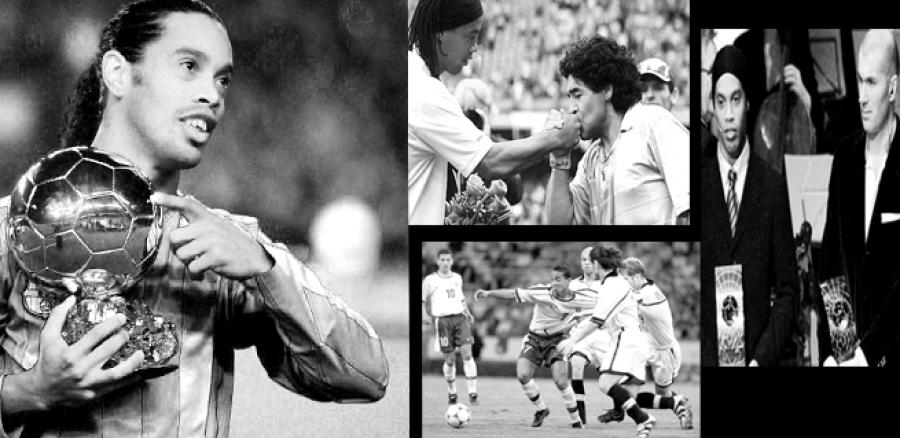 የሮናልዲንሆ ጎቾ ማስታወሻ Obrigado, Ronaldinho!